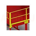 12. Parapete pe ambele părți G (OPT-HRL). Pentru o mai bună siguranță a pietonilor care lucrează pe platformă. Înălțimea: 1000 mm.