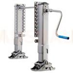 1. Ajustarea înălțimii (OPT-HA1). Ajustarea înălțimii H cu ajutorul picioarelor de sprijin instalate pe prima parte G (sub punte FxD).