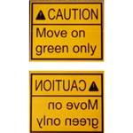 7. Set de plăci informative – furnizează instrucțiuni importante șoferului. Textele de pe plăci sunt tipărite în mod standard și cu oglindire orizontală (se citește ușor în oglinda retrovizoare). Disponibil în limbile engleză, germană, poloneză, rusă, ucraineană și alte limbi la solicitare (poate fi încasată taxa suplimentară).