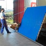 3. Podul mecanic de încărcare – asigură legătura între poarta de andocare și cadrul camionului.