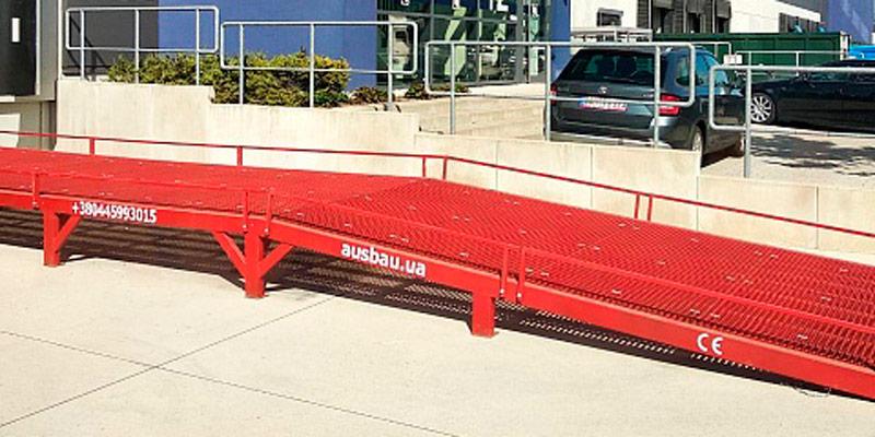 Rampa pentru încărcarea camioanelor AUSBAU-VR
